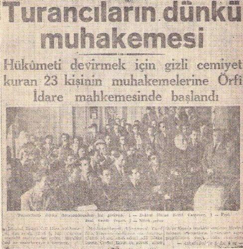 İlk defa Tophane Askerî Hapishanesi'nde Nihal Atsız, Zeki Velidi Togan, Nejdet Sançar ve Reha Oğuz Türkkan başta olmak üzere 10 siyasi mahkûm tarafından kutlandı. Bu kutlamaya Askeri Cezaevi'nde tutulan Alparslan Türkeş katılamadı. Daha sonraki senelerde de tek parti dönemine ilk olarak demokratik bir başkaldırı anlamını taşıyan bu toplantılar, zamanla milliyetçi kitleler arasında yayılarak Türkçülük Bayramı adını alıp, her yıl kutlanmaya başlandı.