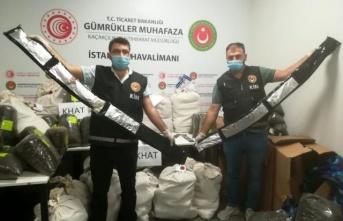 İstanbul Havalimanı'nda 420 kg uyuşturucu ele geçirildi