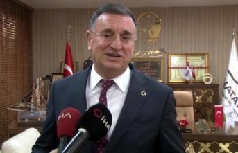 """Başkan Savaş: """"Hatayspor'u UEFA'da görmek istiyoruz"""""""