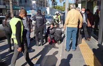 İskenderun'da Maske Uyarısı Yapan Polise Saldırı!