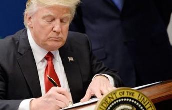 Trump Türkiye'ye Yönelik Yaptırım Paketini İmzaladı!