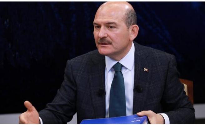 İçişleri Bakanı Soylu, koronavirüsle mücadele kapsamında, toplam 12 belde ve köyün karantinada olduğunu bildirdi.