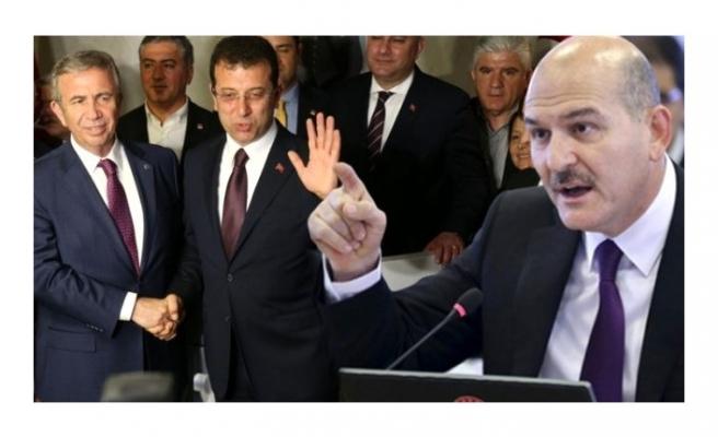 Bakan Soylu, İBB ve ABB'nin yardım hesaplarına bloke konulmasıyla ilgili açıklama yaptı