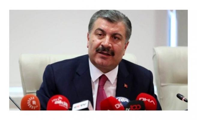 Sağlık Bakanı Fahrettin Koca: Artan test sayısına göre vaka sayısındaki artış düşük seyrediyor