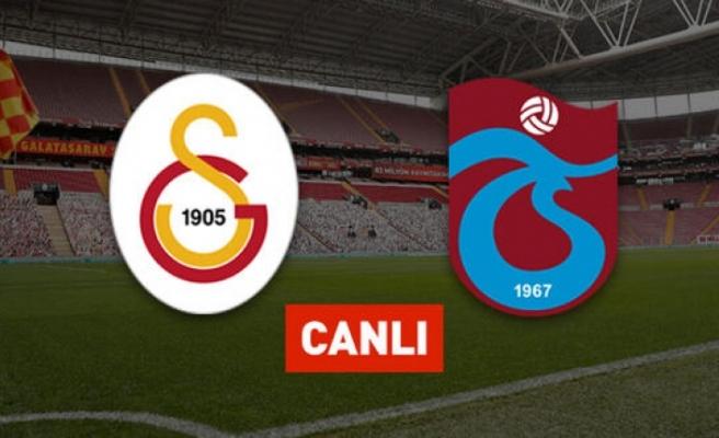Galatasaray Trabzonspor CANLI YAYIN