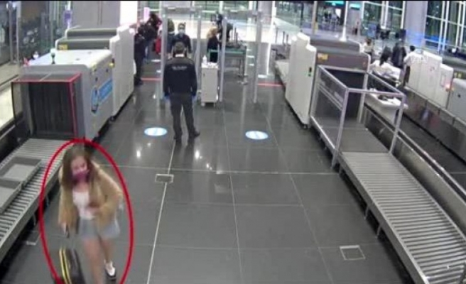Sahte pasaportla yurt dışına kaçmaya çalışan PKK'lı kadın terörist tutuklandı