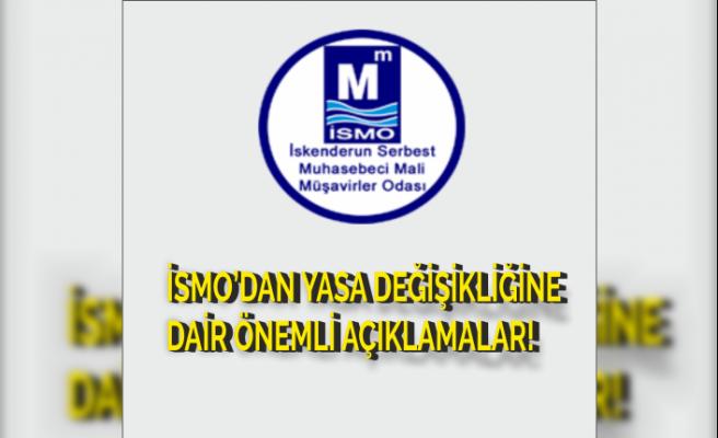 SGK Borç Yapılandırma Müraacatları Ertelendi: İSMO'dan Yasa Değişikliklerine Dair Önemli Açıklamalar!