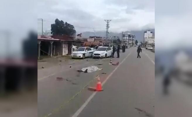 Arsuz'da Korkunç Kaza!
