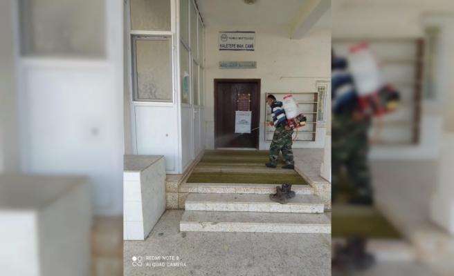 Kumlu'da Camiiler Dezenfekte Edildi!