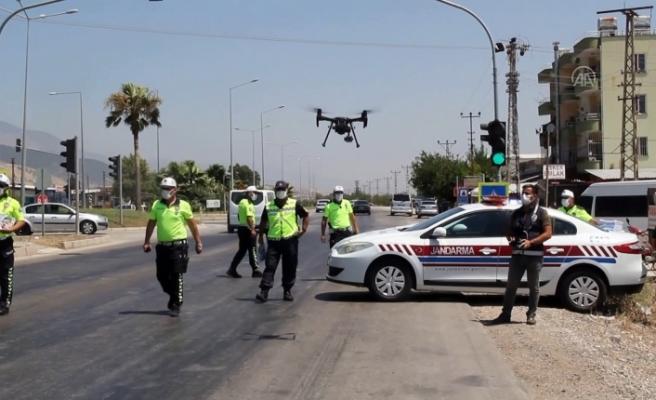 Trafikte Drone Destekli Denetim!