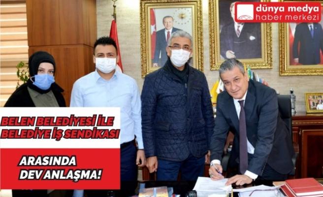 Belen Belediyesi ile Belediye İş Sendikası Arasında Anlaşma Sağlandı!