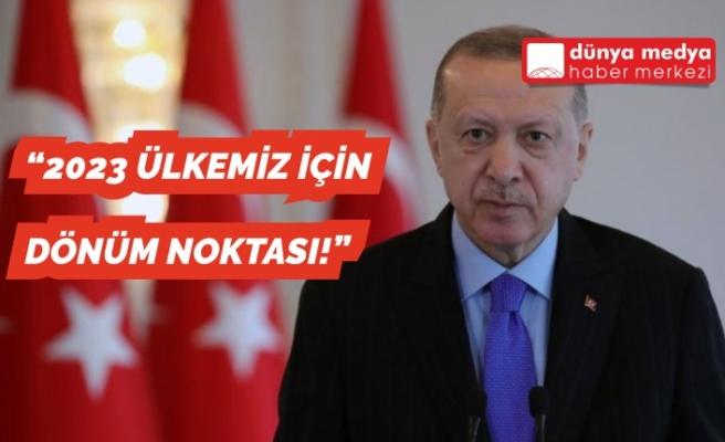 """Erdoğan: """"2023 Ülkemiz İçin Dönüm Noktası!"""""""