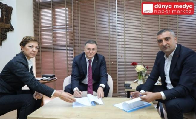 Büyükşehir ile Türk Yerel Hizmet-Sen Arasında Toplu İş Sözleşmesi İmzalandı!