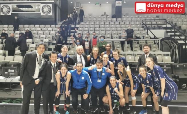 Hatay Büyükşehir Belediyespor Beşiktaş'tan İstediğini Aldı: 76-82