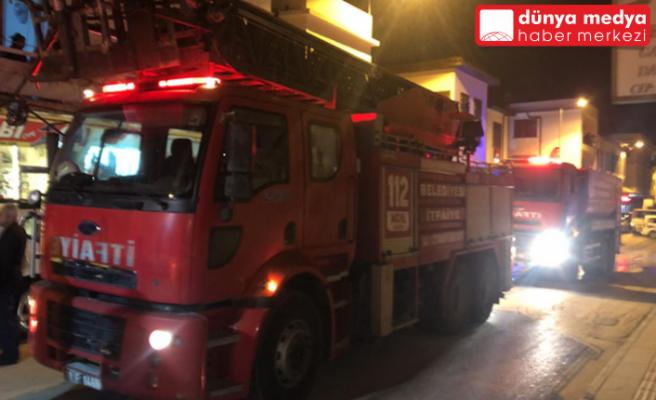 Antakya'da Tarihi Caddede Yangın Çıktı!