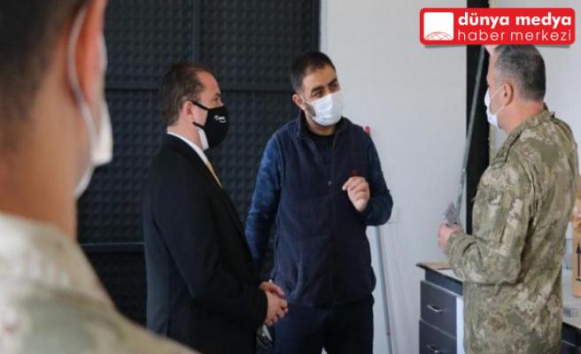 Garnizon Komutanı Kılınç'dan İSTE Rektörü Depçi'ye Ziyaret!
