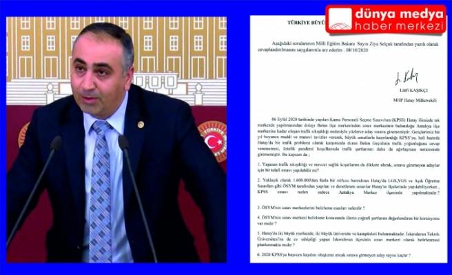 Milletvekili Lütfi Kaşıkçı'nın girişimleri sonuç verdi