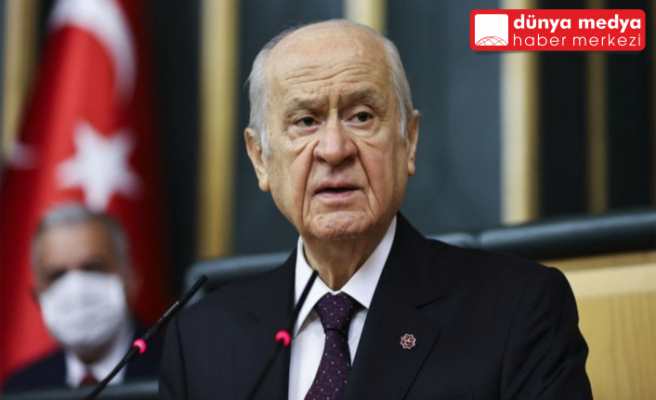 """MHP Lideri Bahçeli: """"Kılıçdaroğlu mizahta ustalaştı"""""""