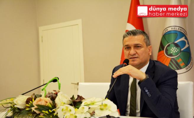 """Belen Belediye Başkanı Gül:   """"İskenderun'un önünde  hiçbir engel yoktur!"""""""