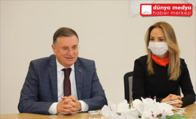 CHP Kadın Kolları Başkanı Aylin Nazlıaka Hatay'da