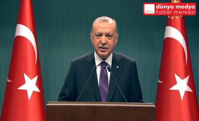 """Cumhurbaşkanı Erdoğan: """"Ata sporlarımızın yaygınlaşması için  yürütülen çabaları desteklemekte kararlıyız"""""""