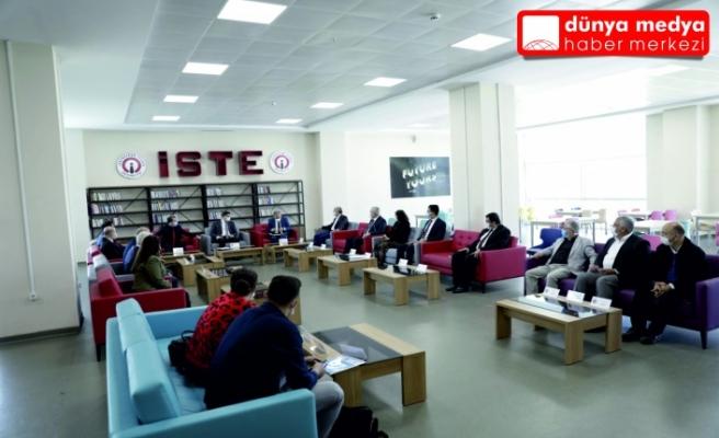 İskenderun Mesleki Eğitim Merkezi Proje Toplantısı   İSTE Ev Sahipliğinde Yapıldı