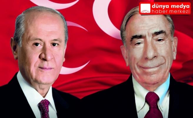 """MHP Lideri Bahçeli: """"Başbuğumuz Alparslan Türkeş'i   Rahmetle   Anıyoruz..."""""""