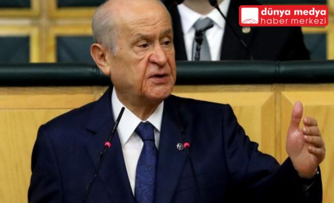 MHP Lideri Bahçeli'den ABD'ye Soykırım Tepkisi!