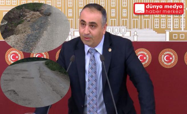 """MHP'li Lütfi Kaşıkçı:   """"Hatay'a bu yollar yakışmıyor!"""""""