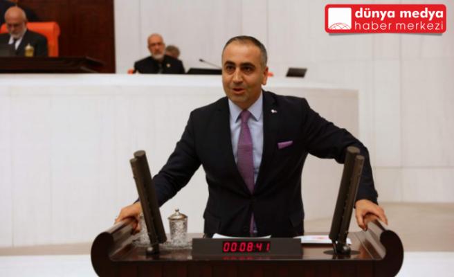 Milletvekili Kaşıkçı TBMM'de   Güvenlik Korucuları'nın taleplerini yineledi