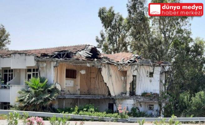 Arsuz'da Karantina Tesisleri   çürümeye terk edildi!