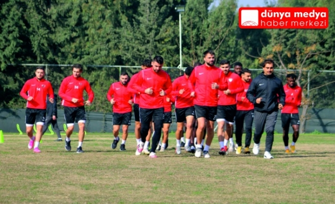Atakaş Hatayspor   Denizlispor maçınının   hazırlıklarına başladı