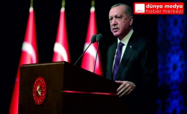 """Cumhurbaşkanı Erdoğan'dan ABD'ye: """"Ne yapalım, alkış mı tutalım?"""""""