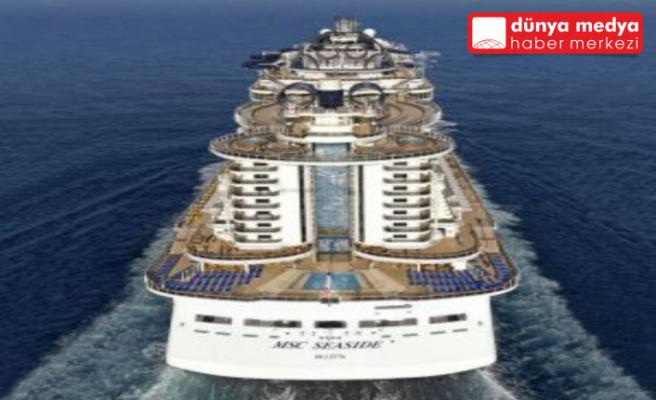 Dünyanın en büyük   yolcu gemisi İskenderun'a geliyor
