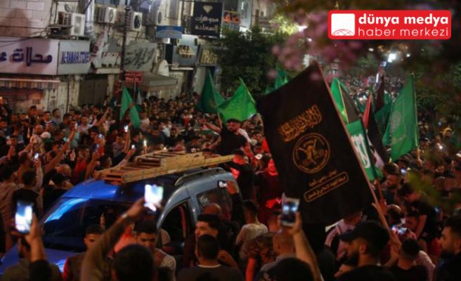 Gazze'de Ateşkes Sevinci