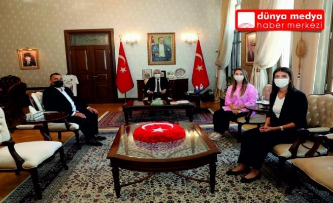 Hatay Turizm ve Gastronomi Derneği'nden   Vali Rahmi Doğan'a ziyaret