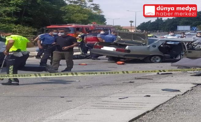 Antakya'da trafik kazası: 1 ölü, 2 yaralı