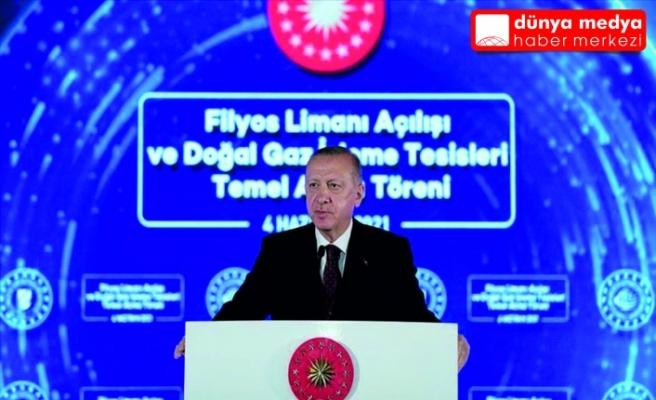 Cumhurbaşkanı Erdoğan'dan Doğalgaz Müjdesi