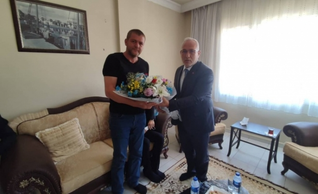 Başkan Fatih Tosyalı'dan Şehit    Ve Gazi Ailelerine Ziyaret