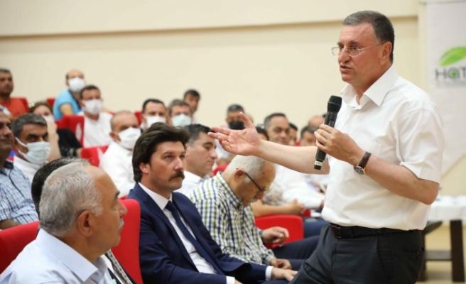 """BAŞKAN SAVAŞ, """"PROJEMİZ DÖRTYOL'U   CİDDİ DERECEDE RAHATLATACAK"""""""