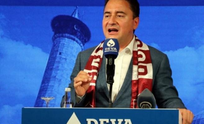 DEVA Partisi Lideri Ali Babacan   Hatay'da Partisinin Kongrelerine Katıldı!