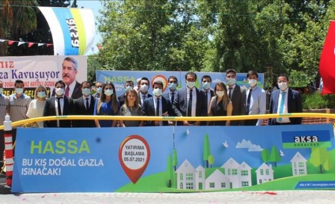 Hassa'da Doğalgaz Altyapı  Çalışmalarına Başlandı!