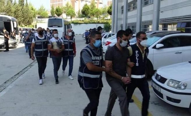 Hatay'da 34 şüpheliden 18'i    hırsızlık suçundan tutuklandı