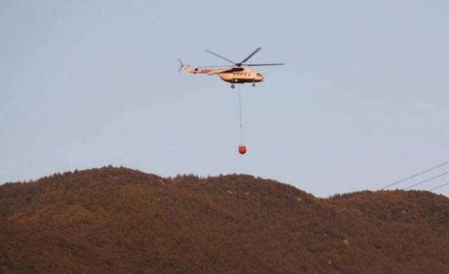 Kırıkhan'da çıkan orman yangını   kontrol altına alındı