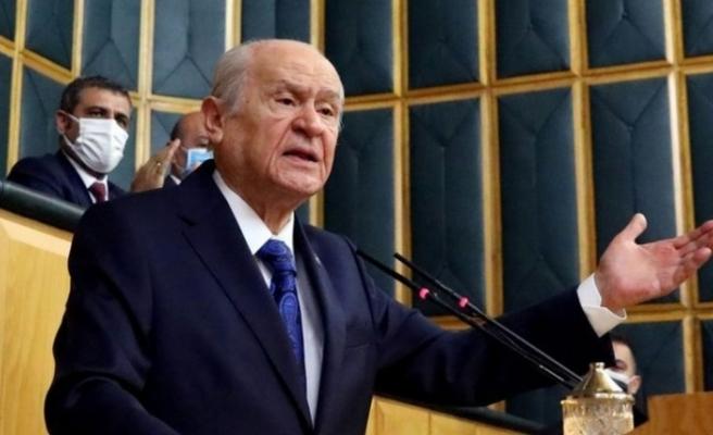 MHP lideri Bahçeli'den İçişleri Bakanı Süleyman Soylu'ya destek