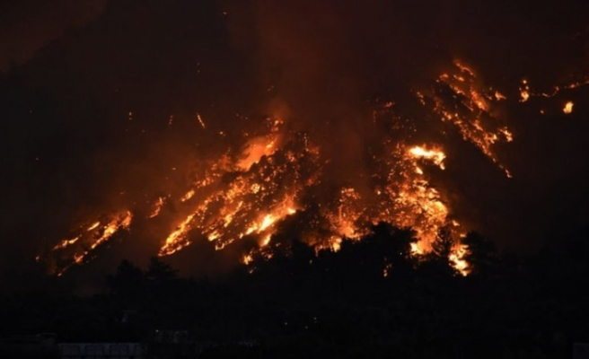 Yangınlarda 7. Gün!