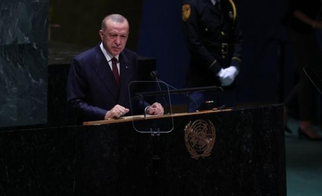 Cumhurbaşkanı Erdoğan'dan   Afgan mülteciler mesajı