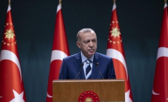 Cumhurbaşkanı Recep Tayyip Erdoğan açıklamalarda bulundu