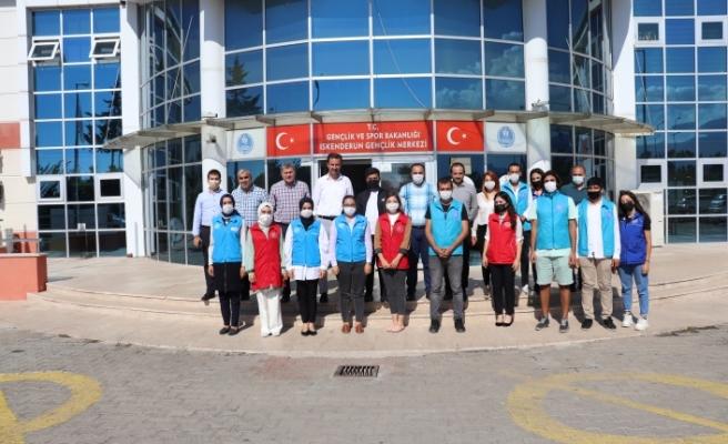 Gençlik Hizmetleri   Genel Müdürü Dr.Emre Topoğlu'ndan   İskenderun Gençlik Merkezine Ziyaret