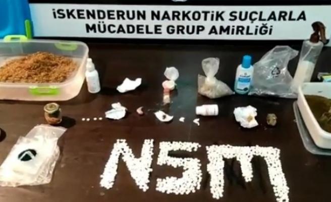 İskenderun'da uyuşturucu   operasyonu: 1 gözaltı